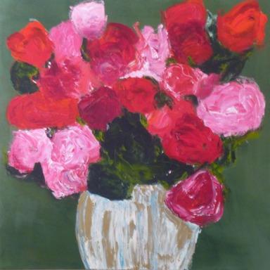 Wobble. Acrylic on canvas. 24 x 24. $720