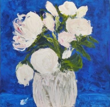 Imagine. Acrylic on canvas. 24 x 24. $720